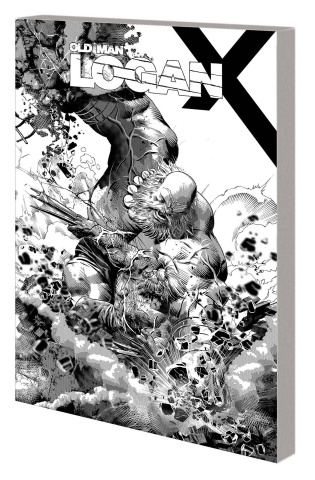 Wolverine: Old Man Logan Vol. 6: Days of Anger (B&W Cover)