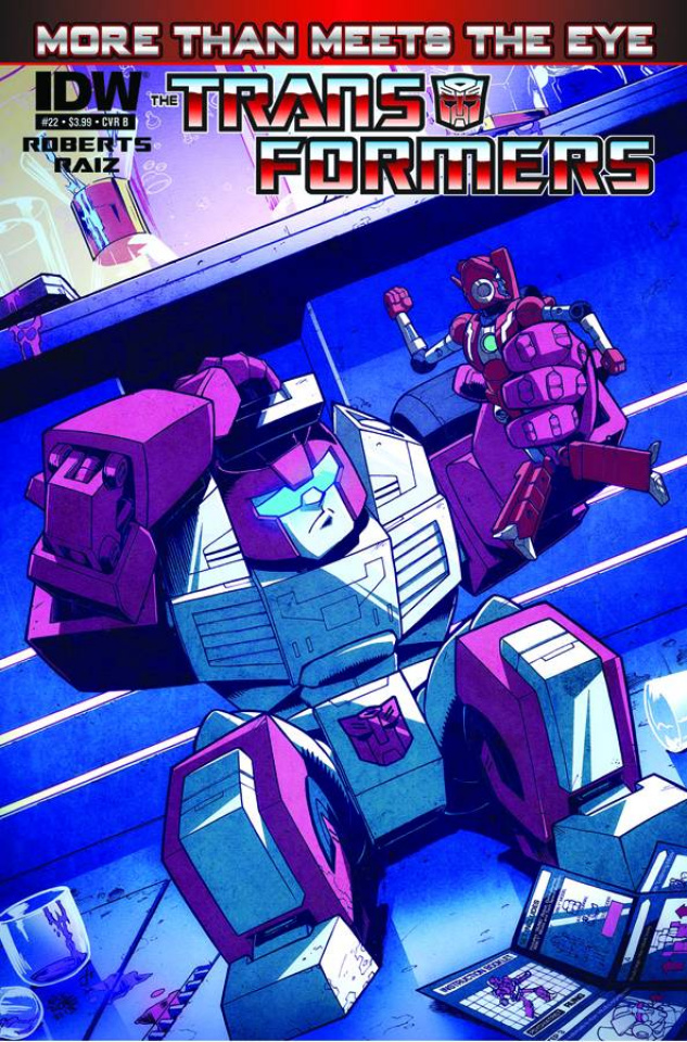 The Transformers: More Than Meets the Eye #22