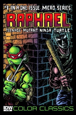 TMNT Color Classics Micro Series: Raphael