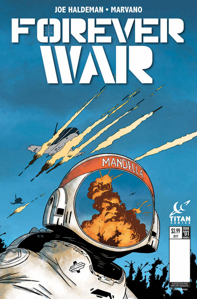 The Forever War #1 (Marvano Cover)