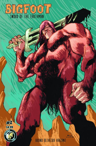 Bigfoot: Sword of the Earthman #2 (Oliveira Cover)
