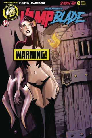 Vampblade, Season Two #6 (Artist Risque Cover)