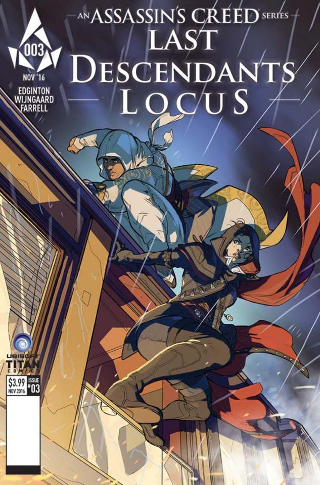 Assassin's Creed: Last Descendants - Locus #3 (Favoccia Cover)