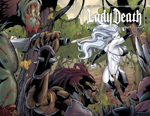Lady Death #26 (Battle Wrap Cover)