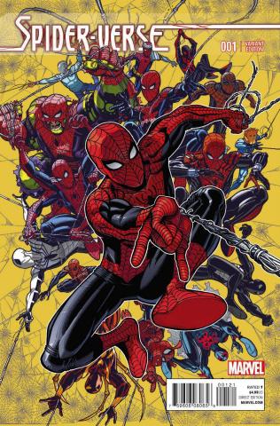 Spider-Verse #1 (Bradshaw Cover)