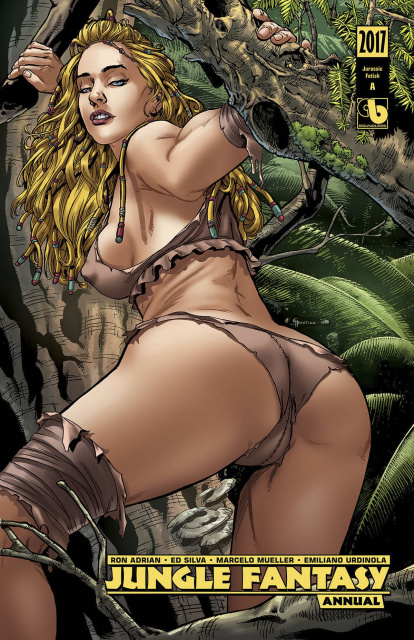 Jungle Fantasy Annual 2017 (Jurassic Fetish Set)