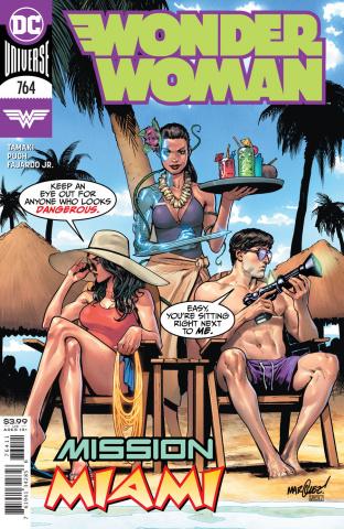 Wonder Woman #764 (David Marquez Cover)