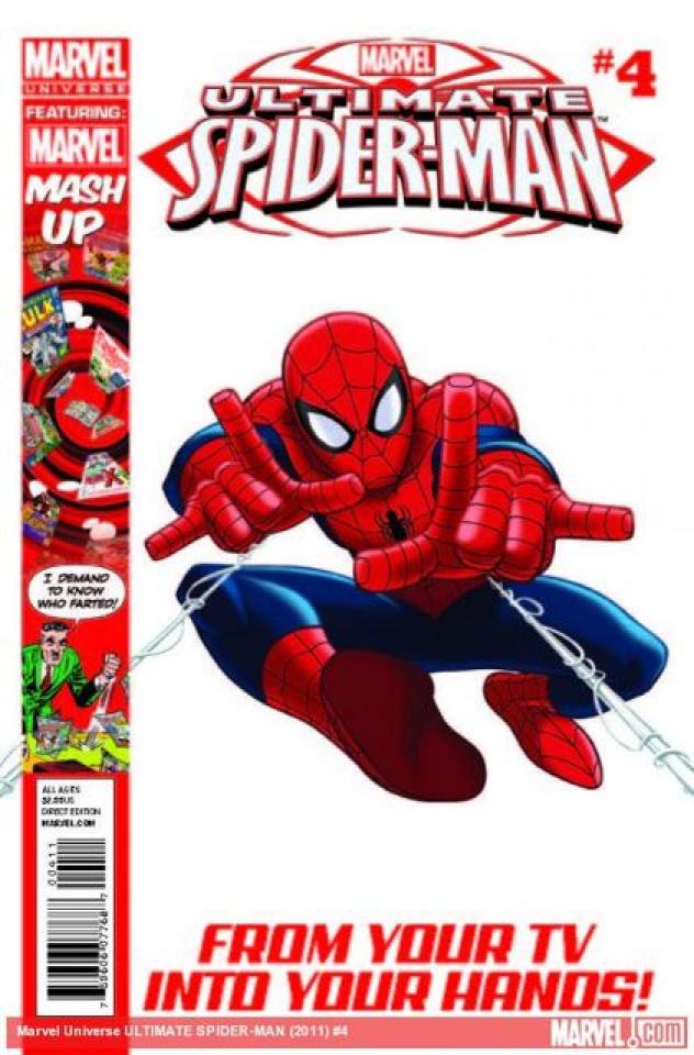 Marvel Universe: Ultimate Spider-Man #4