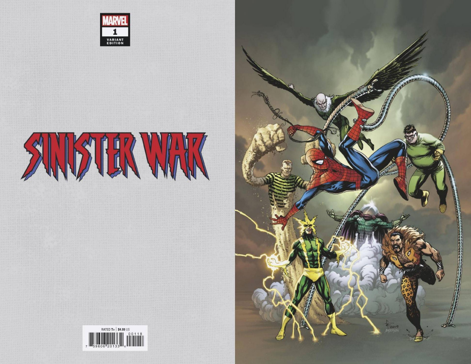 Sinister War #1 (Frank Virgin Cover)