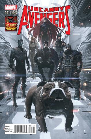 Uncanny Avengers #1 (Ladronn Inhuman 50th Anniversary Cover)
