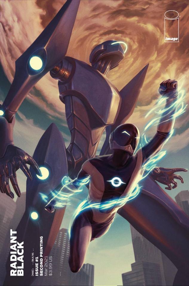 Radiant Black #1 (2nd Printing)