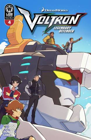 Voltron: Legendary Defender #4 (Carreon Cover)
