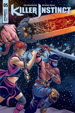 Killer Instinct #5 (Sarraseca Cover)