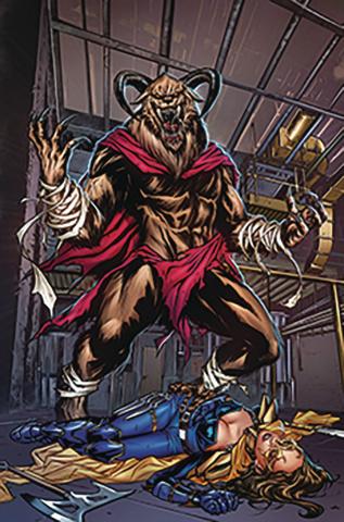 Belle: Beast Hunter #5 (Riveiro Cover)