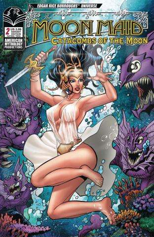 Moon Maid #2 (Calzado Depths Cover)