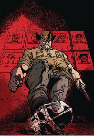 Blood, Skulls, and Chrome #2 (Kivela Cover)