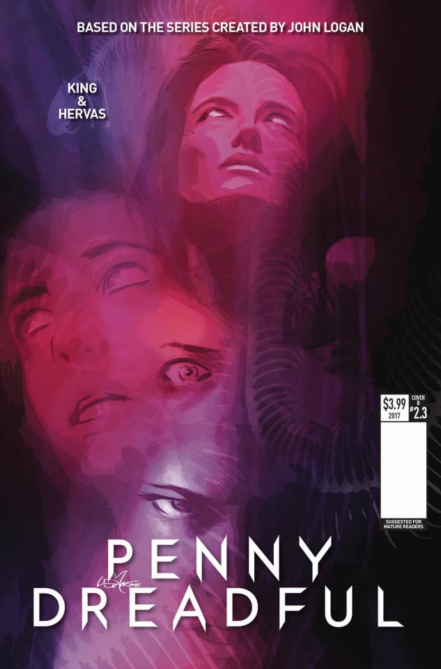 Penny Dreadful #3 (De Martinis Cover)