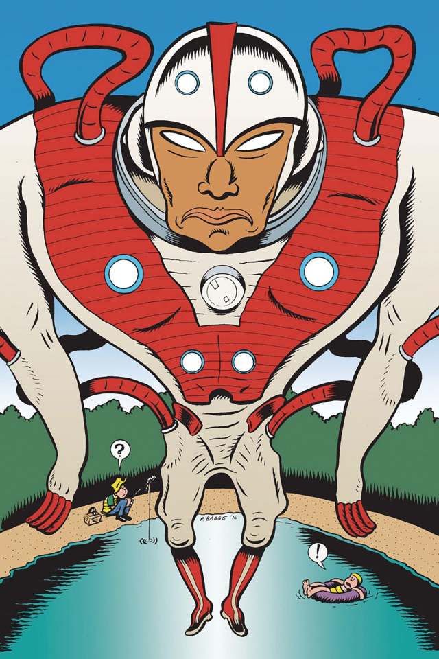 Divinity #0 (10 Copy Bagge Cover)
