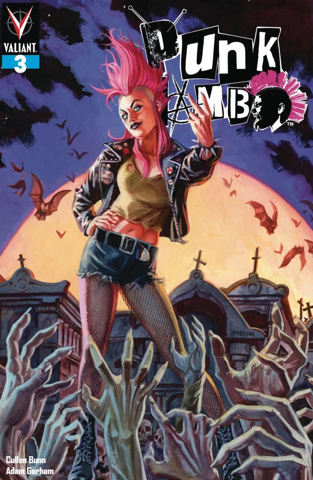 Punk Mambo #3 (Brereton Cover)