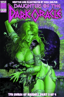 Daughters of the Dark Oracle #2 (70's Psycho 5 Copy Cover)