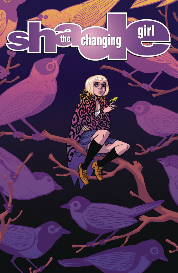 Shade, The Changing Girl #5