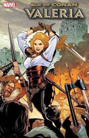 Age of Conan: Valeria #2 (Lupacchino Cover)