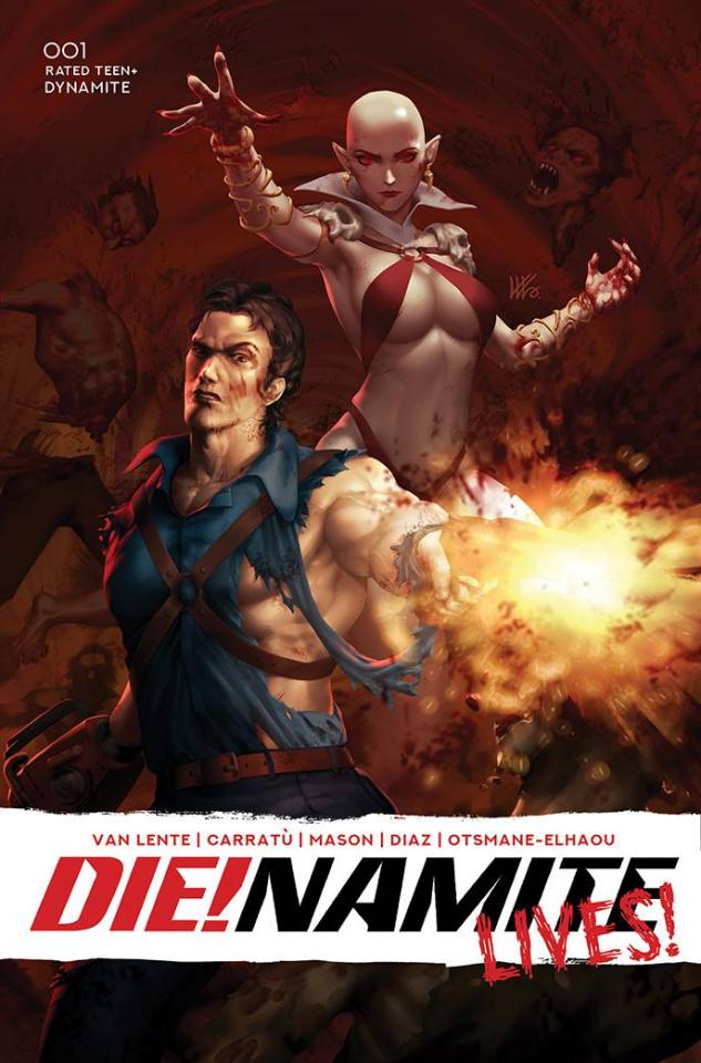 DIE!namite Lives! #1 (Lim Bonus Cover)