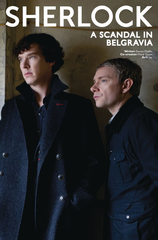 Sherlock: A Scandal in Belgravia #4 (Photo Cover)