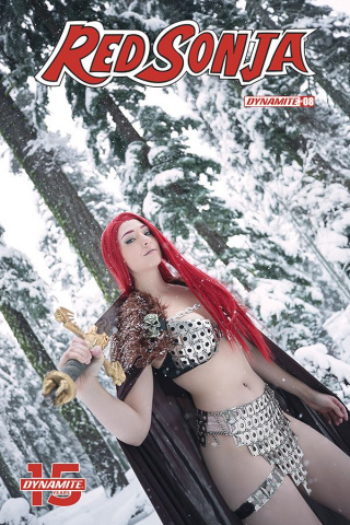 Red Sonja #8 (Cosplay Cover)