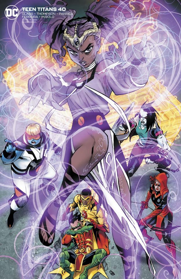 Teen Titans #40 (Khary Randolph Cover)