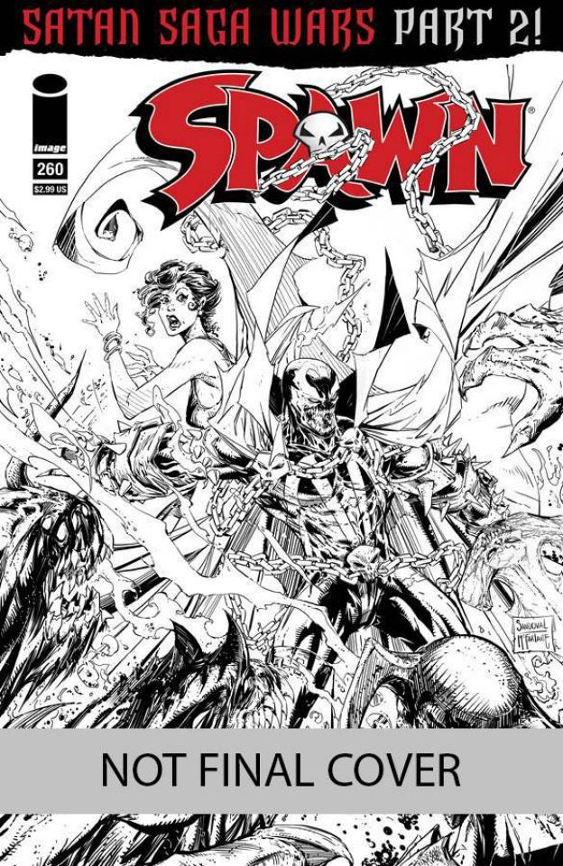 Spawn #260 (Larsen & McFarlane Cover)