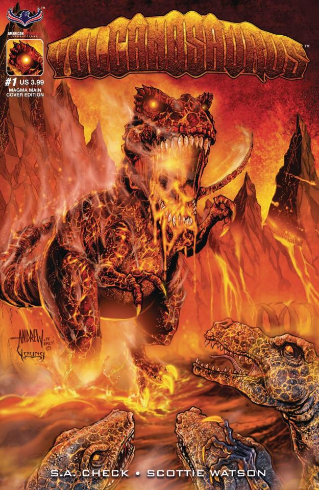 Volcanosaurus #1 (Mangum Cover)