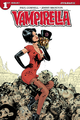 Vampirella #1 (Broxton Subscription Cover)