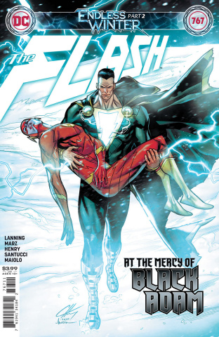 The Flash #767 (Clayton Henry Cover)