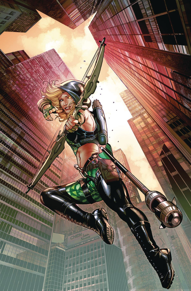Robyn Hood: Outlaw #1 (Chen Cover)
