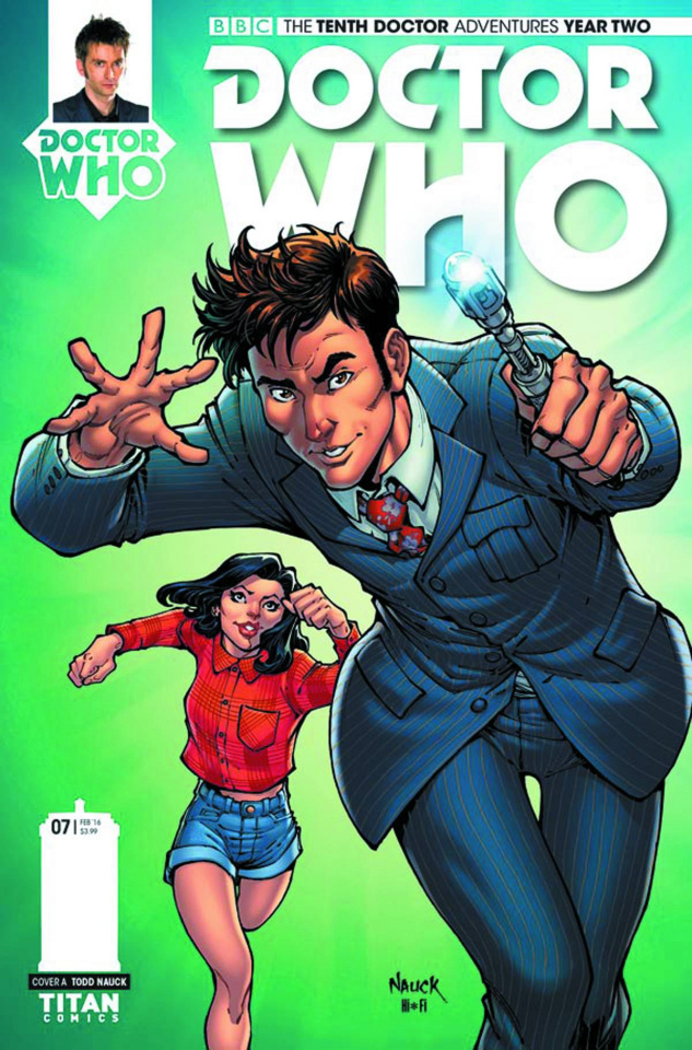 Doctor Who: New Adventures with the Tenth Doctor, Year Two #7 (Nauck Cover)