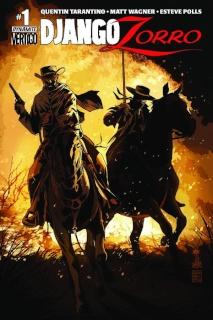 Django / Zorro #1 (Francavilla Cover)