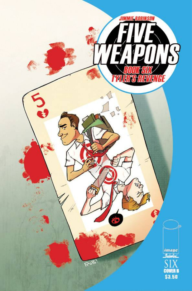 Five Weapons #6 (Guillory Cover)