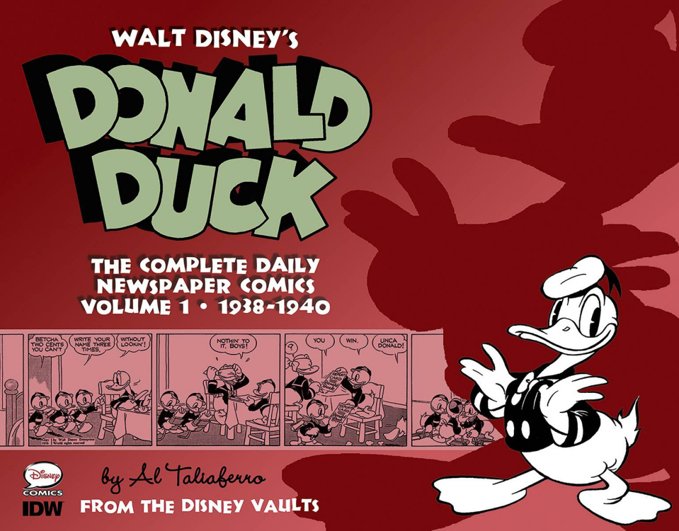 Walt Disney's Donald Duck: The Complete Daily Newspaper Comics Vol. 1: 1938-1940