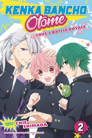 Kenka Bancho Otome: Love's Battle Royale Vol. 2
