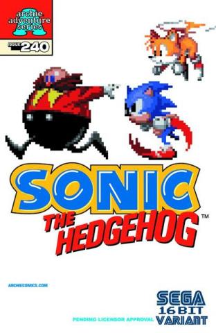Sonic the Hedgehog #240 (Sega Covr)