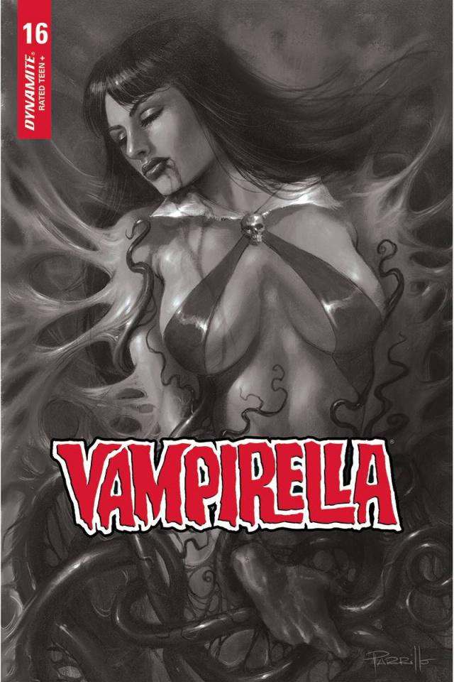 Vampirella #16 (10 Copy Parrillo B&W Cover)