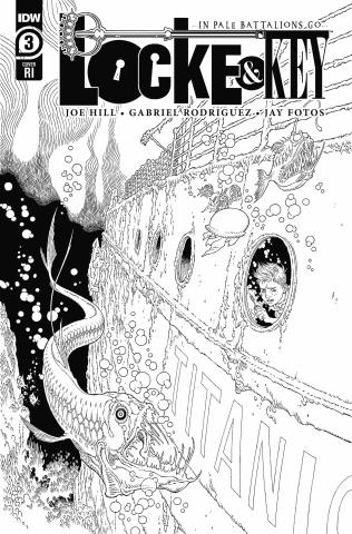 Locke & Key: In Pale Battalions Go #3 (10 Copy Rodriguez Cover)