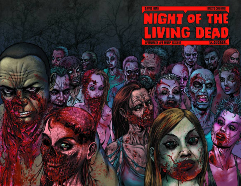 Night of the Living Dead: Aftermath #8 (Wrap Cover)