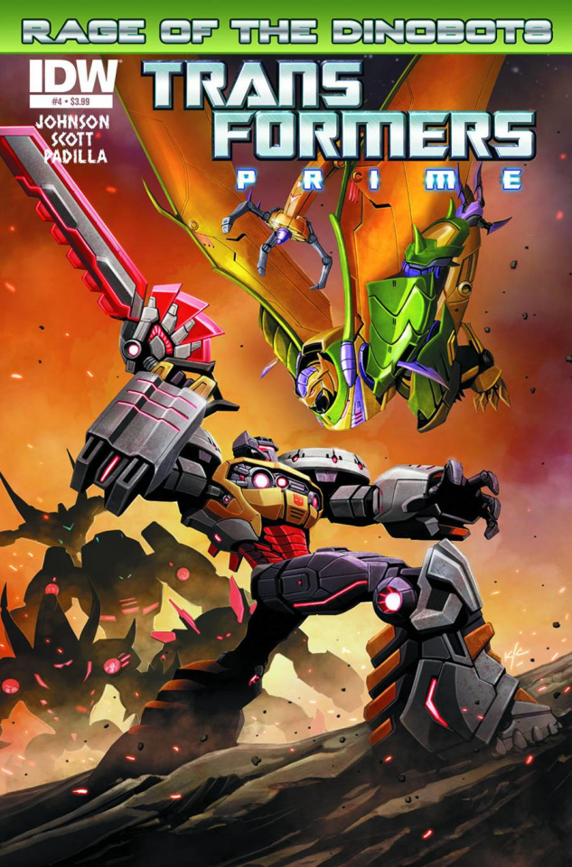 Transformers Prime: Rage of the Dinobots #4