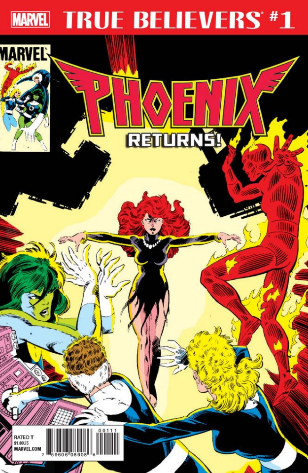 Phoenix Returns! #1 (True Believers)