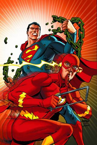 Action Comics #38 (Flash Cover)