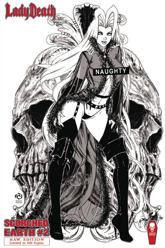 Lady Death: Scorched Earth #2 (Raw Cover)