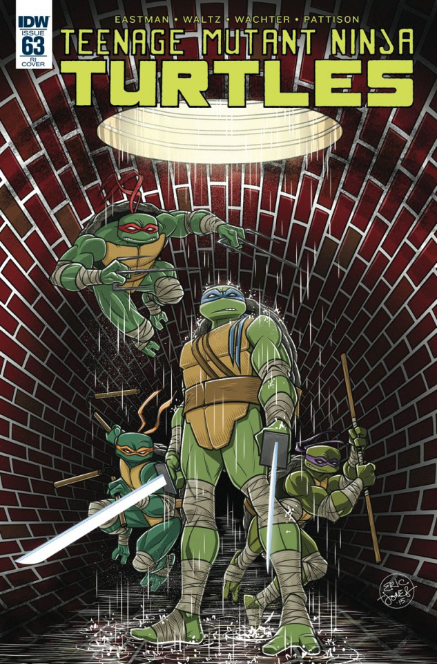 Teenage Mutant Ninja Turtles #63 (10 Copy Cover)