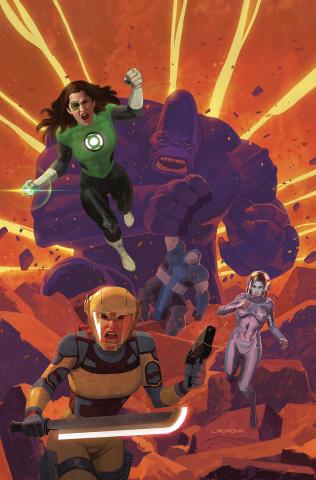 Justice League: Odyssey #22